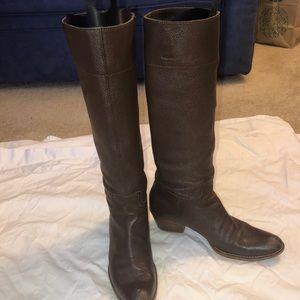 Miu Miu Brown knee high boots- 38